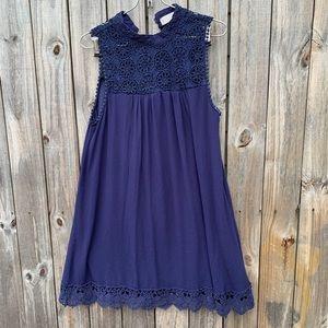 Altar'd State sz M dark blue dress